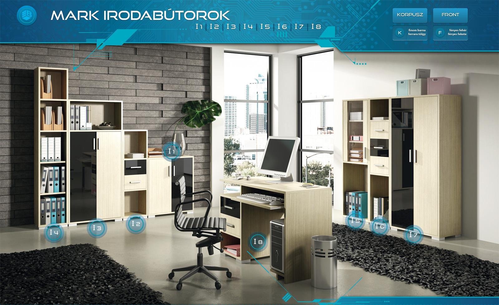 Otthoni dolgozószoba, vagy akár komplett irodabútor