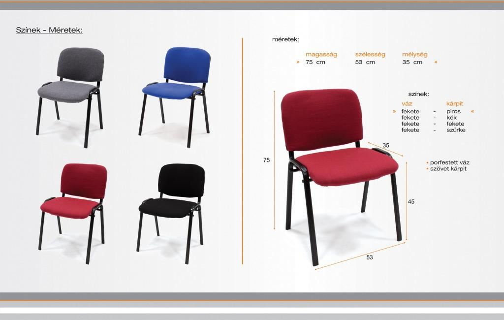 konferencia szék árgép